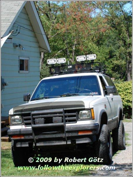 Follow The Explorers — 88 Chevy S10 Blazer