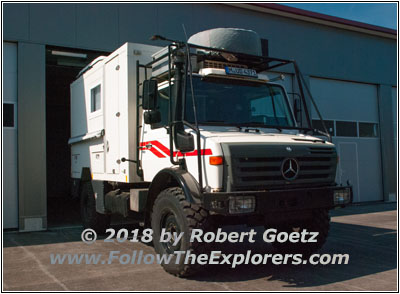 Follow The Explorers Truck